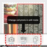 Photoshake! change cell photo in edit mode